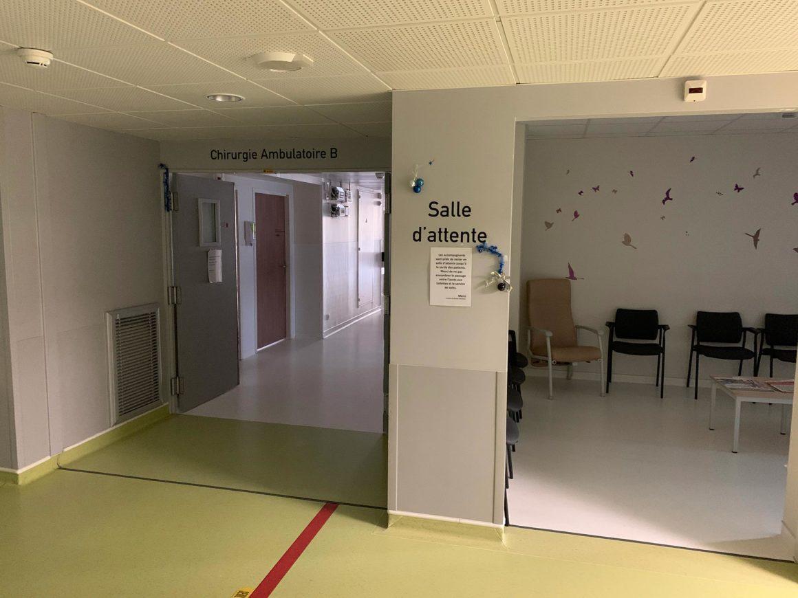 couleur chirurgie ambulatoire CHU de Saint-Etienne