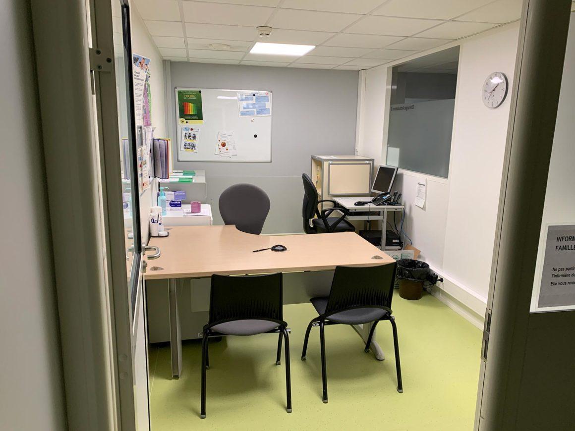 bureau IDE chirurgie ambulatoire CHU de Saint-Etienne