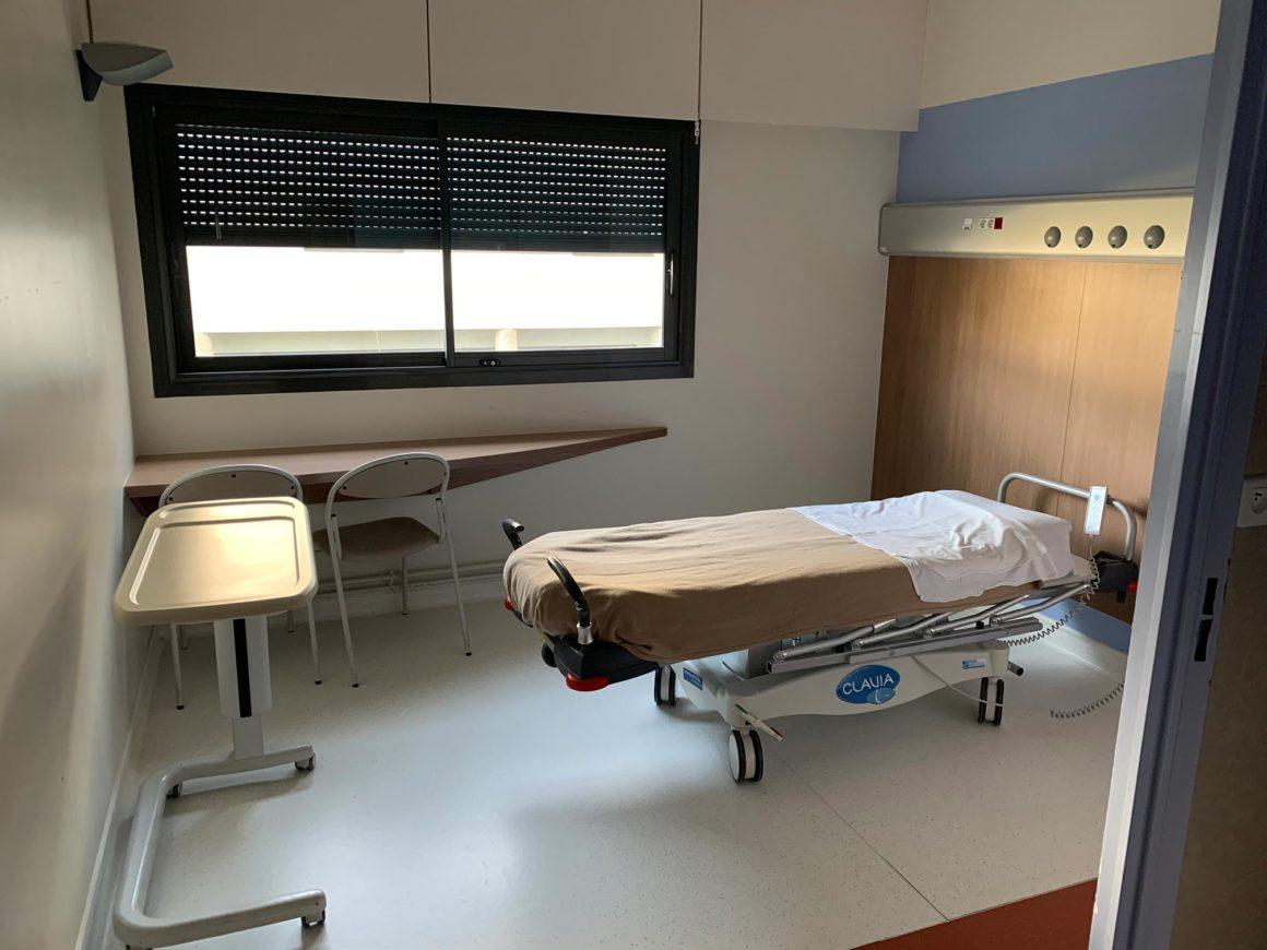 lit chirurgie ambulatoire CHU de Saint-Etienne