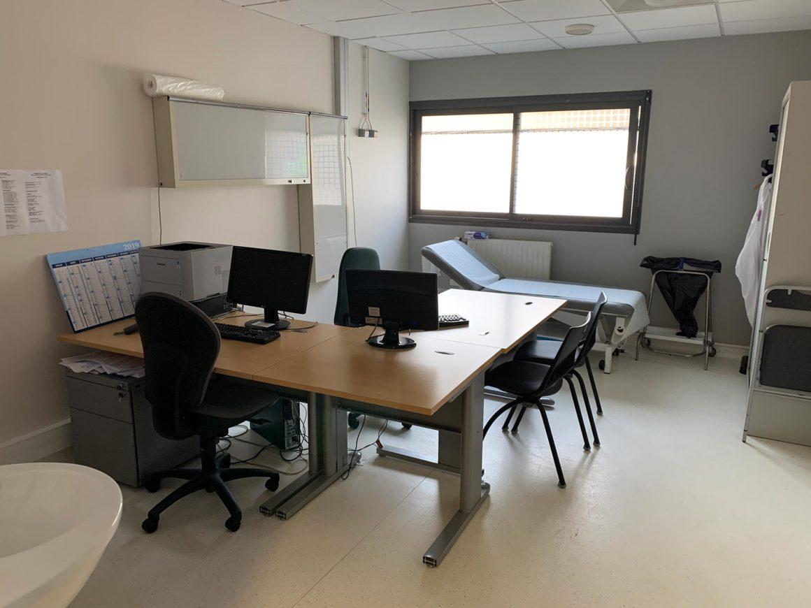 Salle de consultation orthopédie CHU de Saint-Etienne
