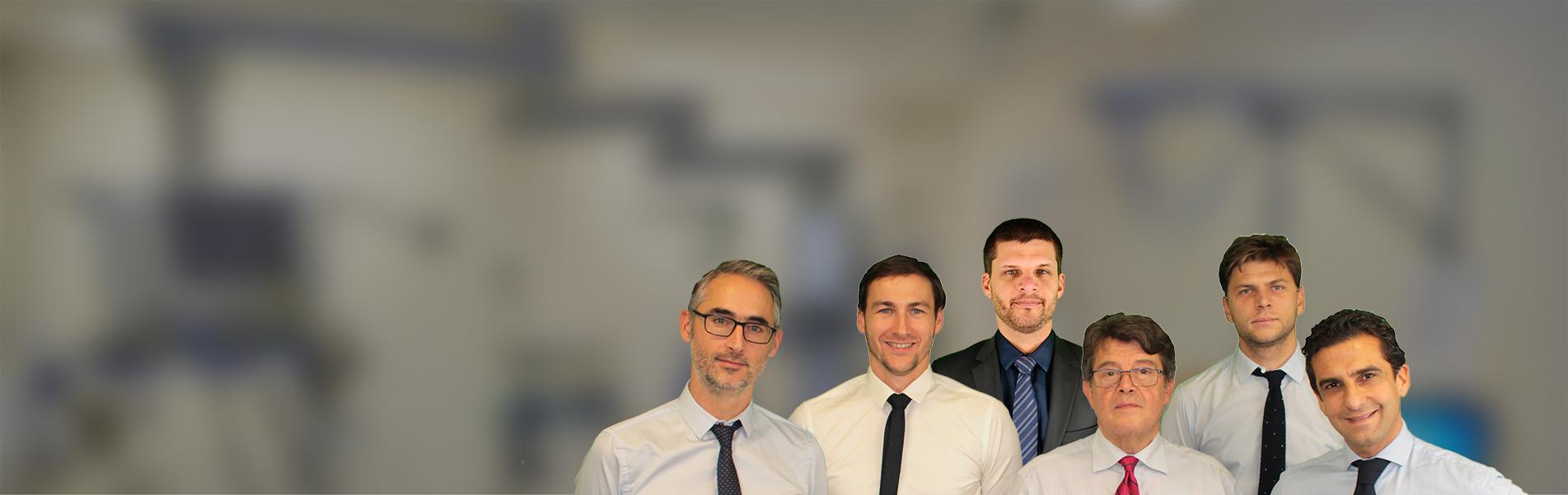 équipe de chirurgie orthopédique CHU de Saint-Etienne