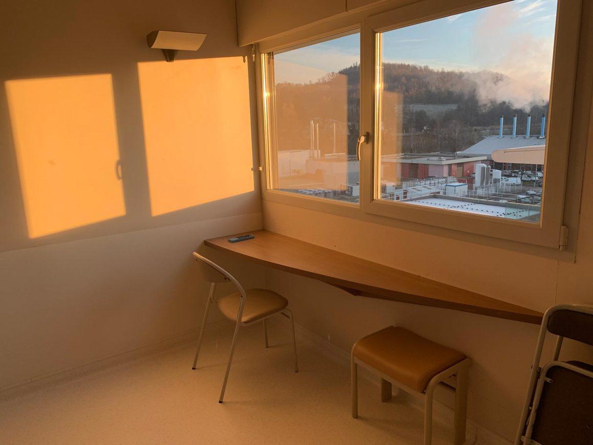 chambre d'hospitalisation CHU de Saint-Etienne