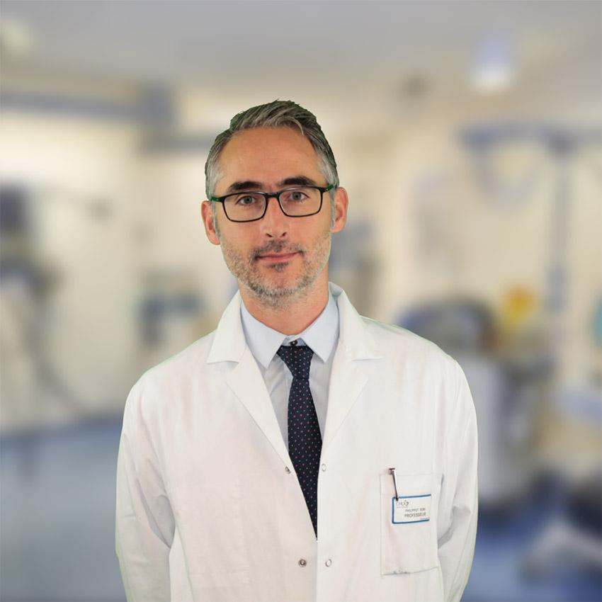 Pr. Rémi Phillipot, chirurgien orthopédique